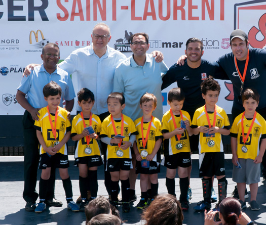 Saint-Laurent soccer