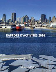 Publication du rapport d'activités 2016