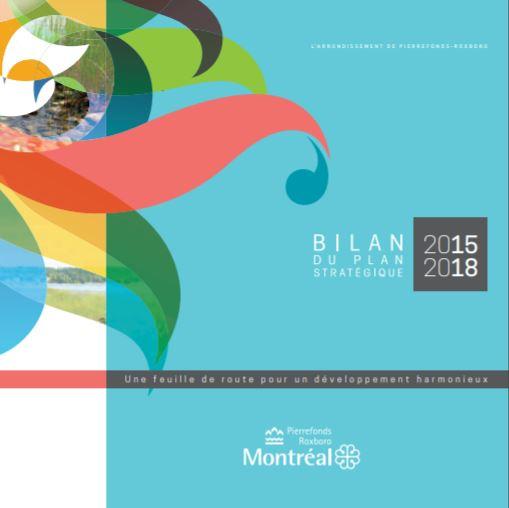 Bilan du plan stratégique 2015-2018 de l'arrondissement