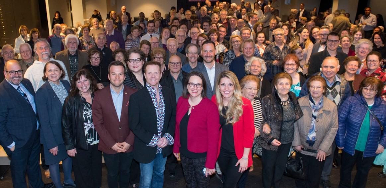 Photo officielle des élus et des bénévoles édition 2019 fête des partenaires