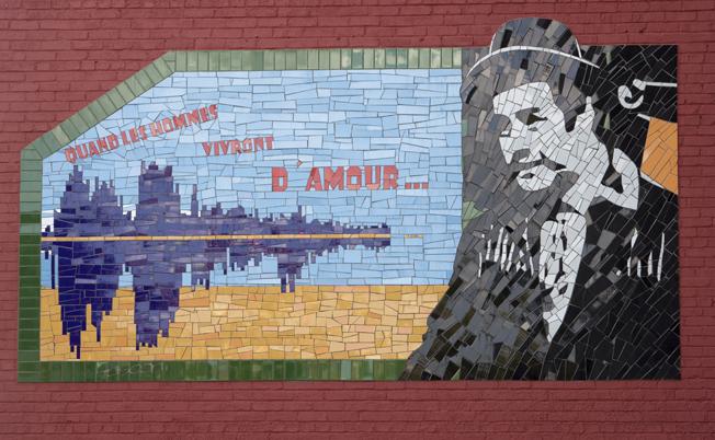 Une murale en hommage à Raymond Lévesque