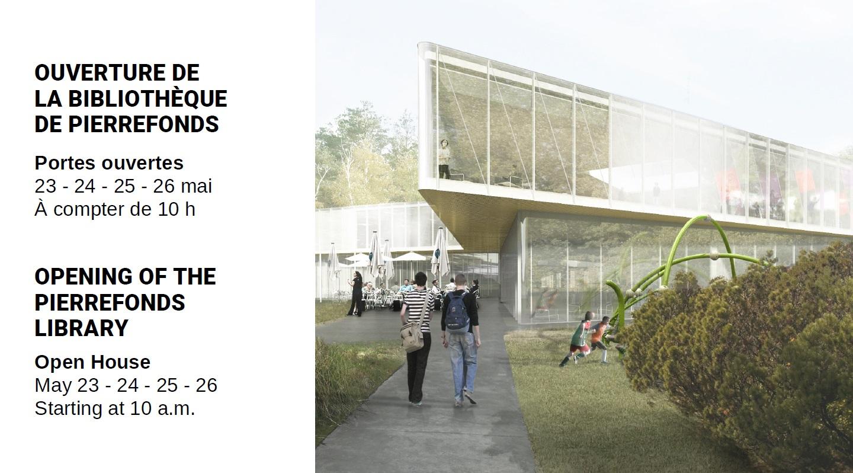 Portes ouvertes bibliothèque de Pierrefonds