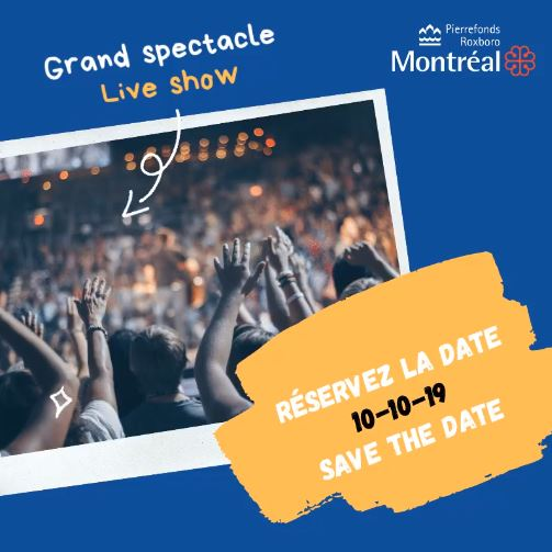 Grand spectacle - Post inondations
