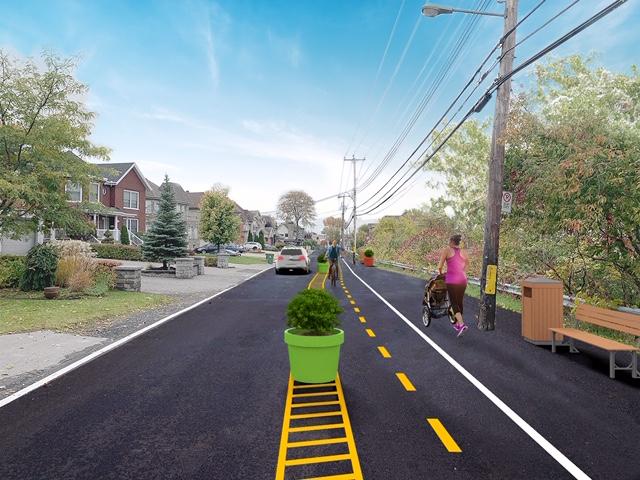 Une solution pour le boulevard Gouin : le projet Poussette